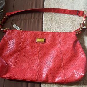 Sofia Vergara hand bag, nwot, orange redish